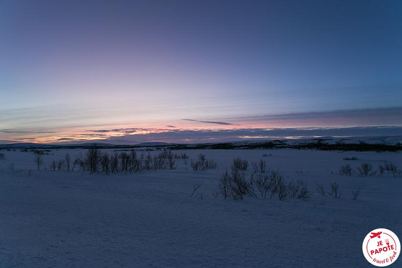 nuorgam nuit polaire