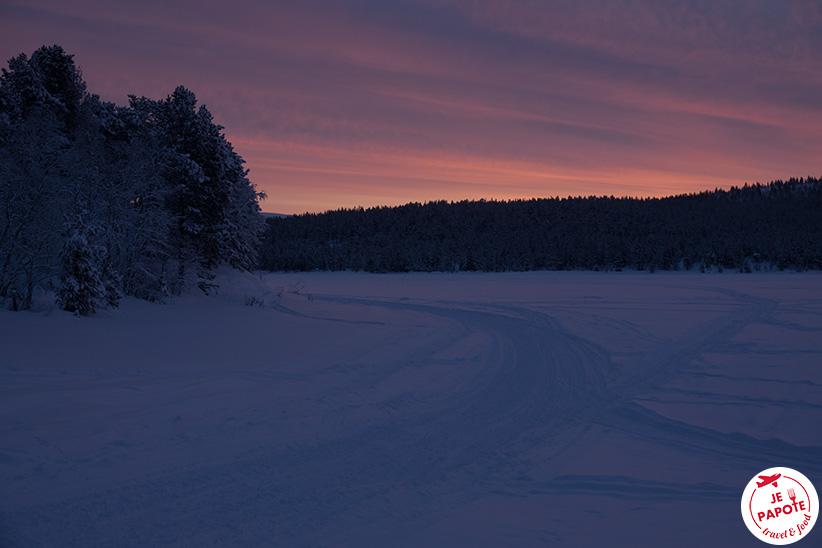 Nuit polaire Finlande