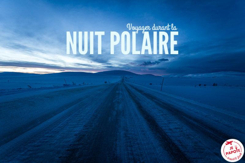 Nuit polaire Laponie