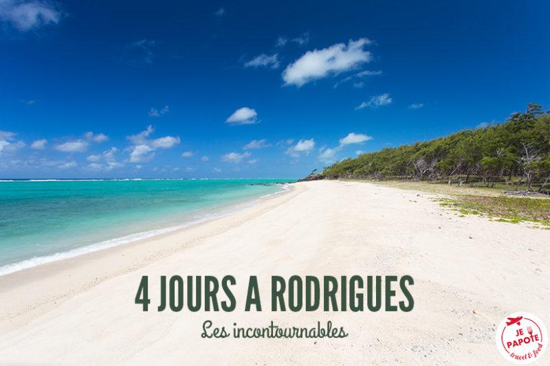 Visiter Rodrigues