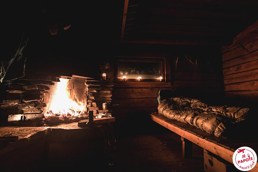 Dormir dans une cabane Laponie