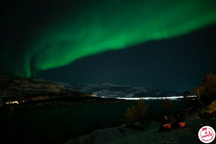 Aurore boreale Alta