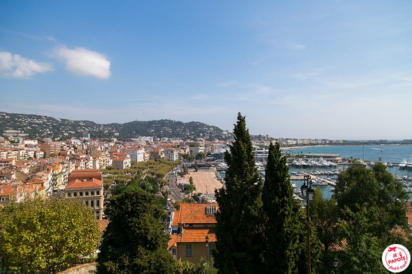 Vue baie Cannes
