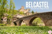 Belcastel, plus beaux villages de France en Aveyron