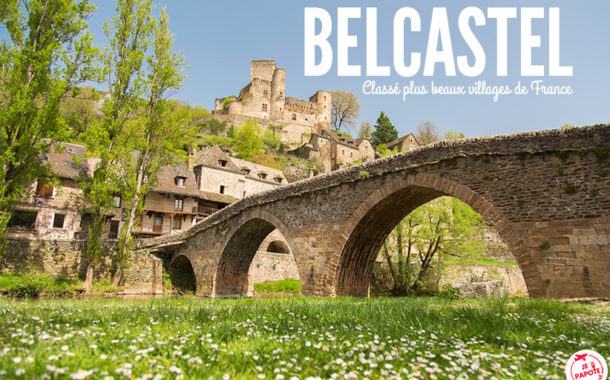 Belcastel, plus beaux villages de France en Aveyron