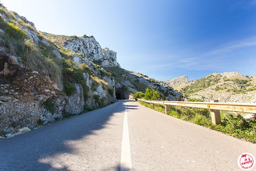 route Majorque