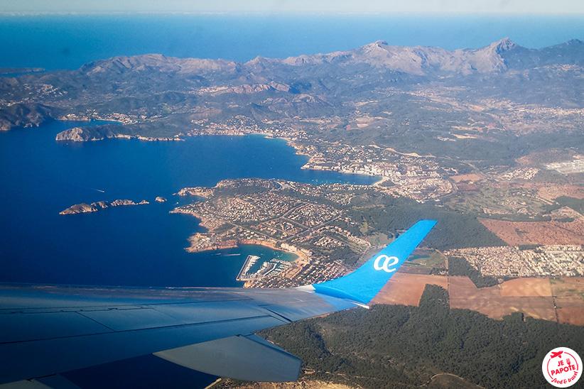 vol Majorque