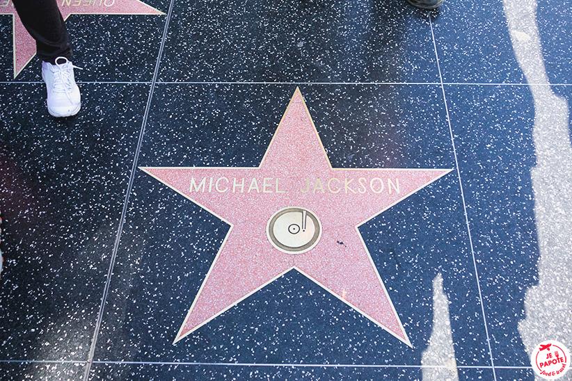 Etoile de Michael Jackson