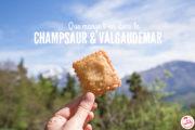 5 spécialités du Champsaur & Valgaudemar
