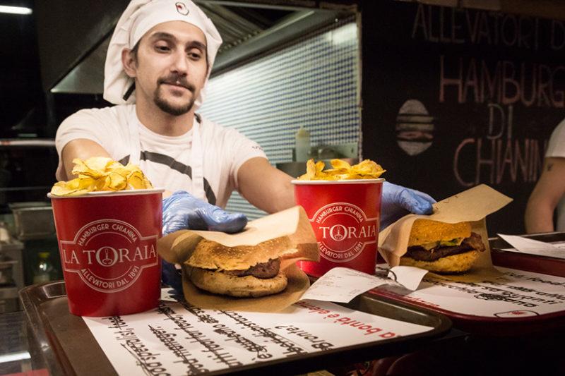 Burger Rome