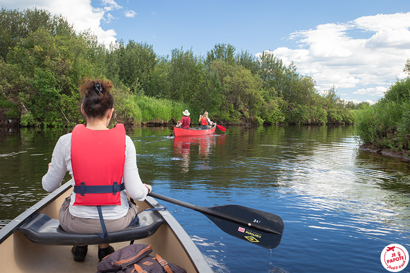 Kayak Laponie