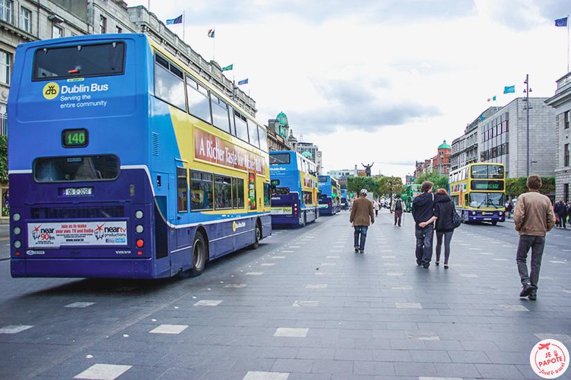 Se déplacer à Dublin