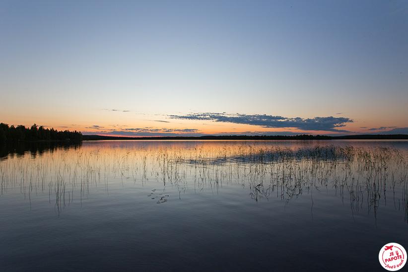 Soleil de Minuit Laponie