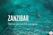 Que faire à Zanzibar ? Récit d'une semaine de voyage