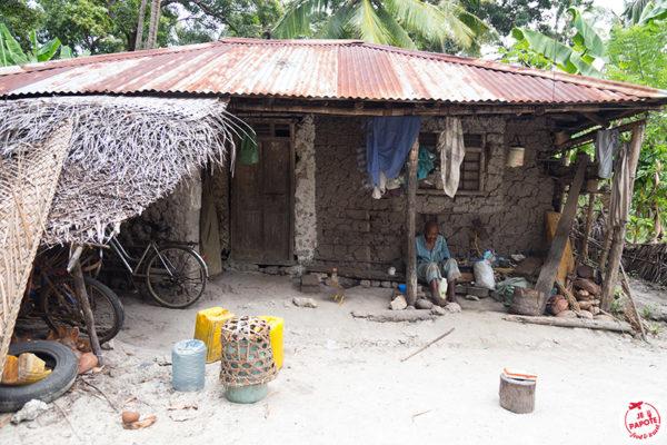 villageois Zanzibar