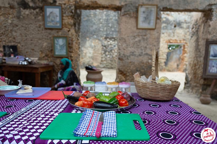 atelier cuisine zanzibar
