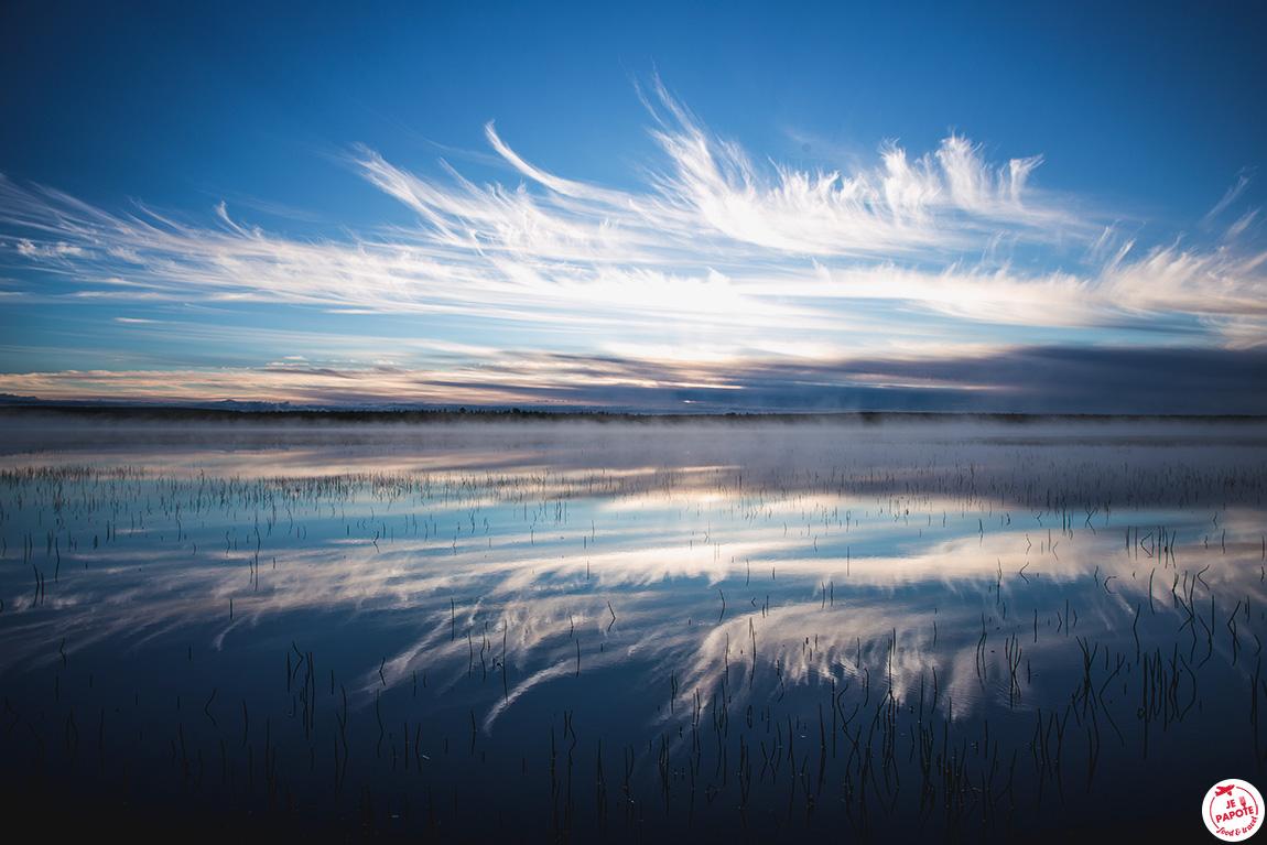 lac laponie été