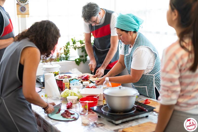 atelier cuisine kirghizistan