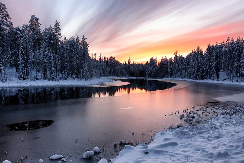 sejour tout inclus Laponie finlandaise