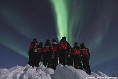 voyage aurores boreales
