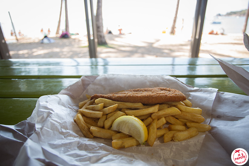 fish & chips à Magnetic Island