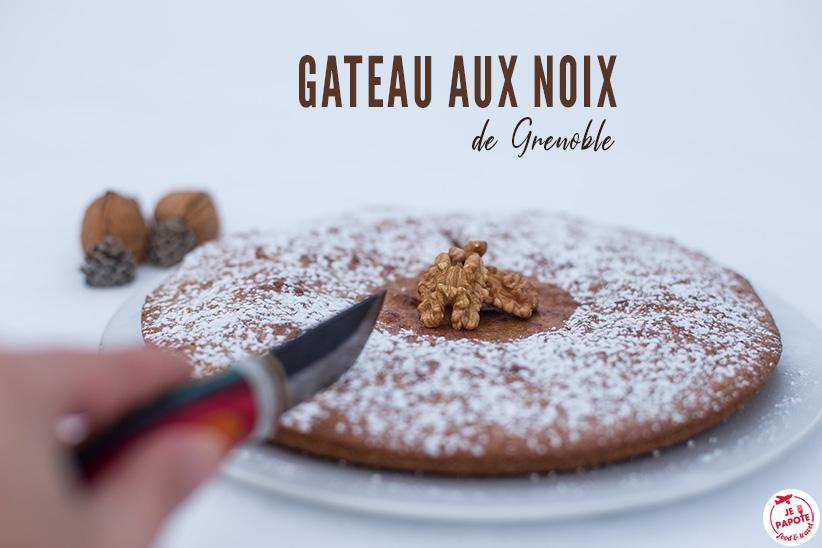 Gateau aux noix de Grenoble