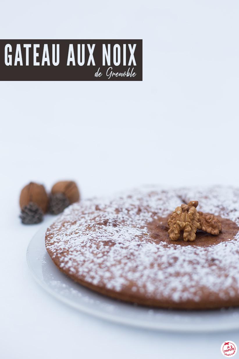 recette gateau aux noix de grenoble