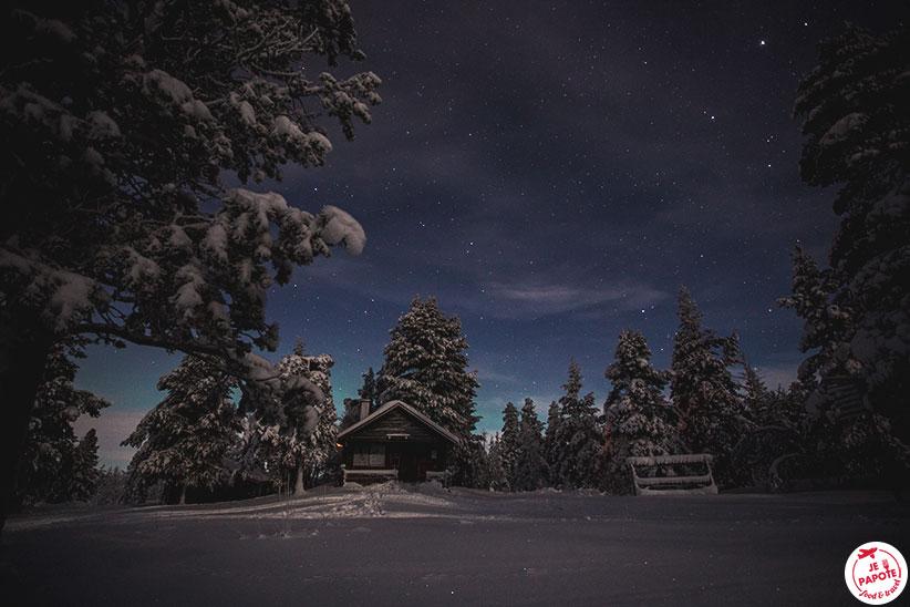 nuit seule laponie
