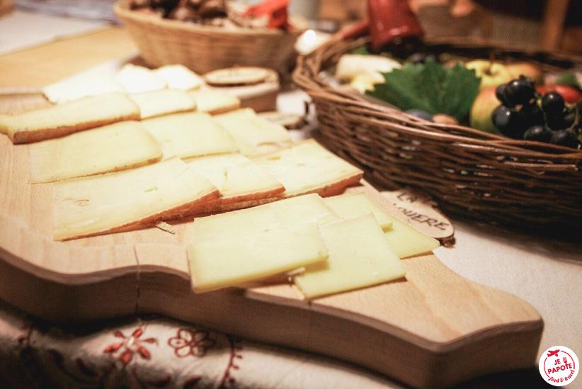 Fomrage à raclette