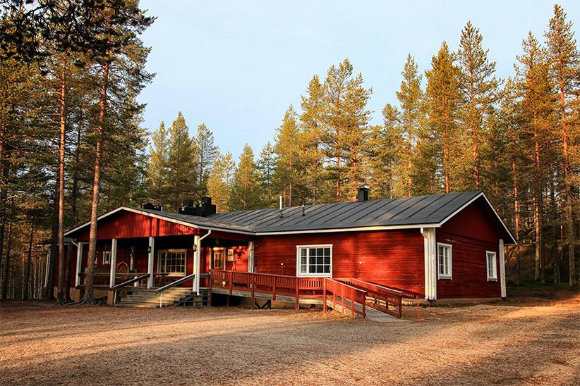 Naali lodge en Laponie - été