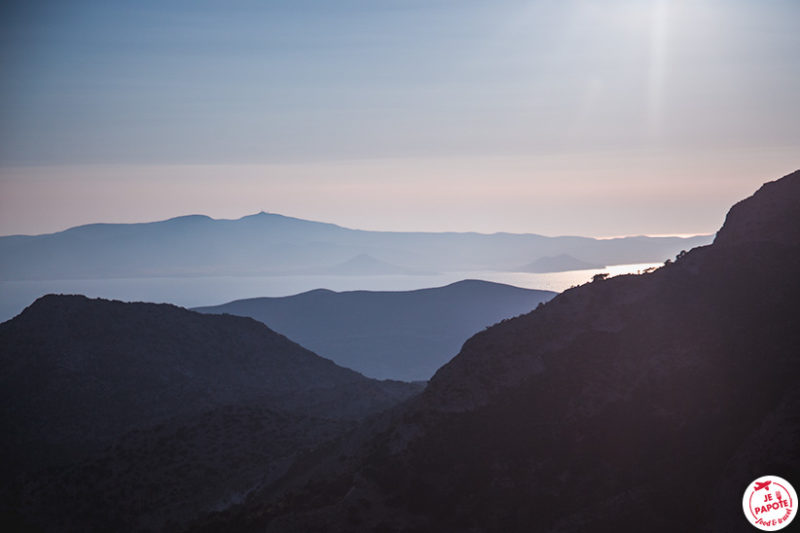 montagnes Naxos