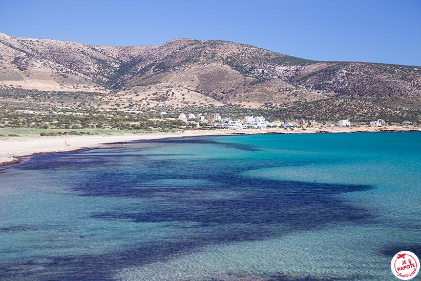 plage naxos