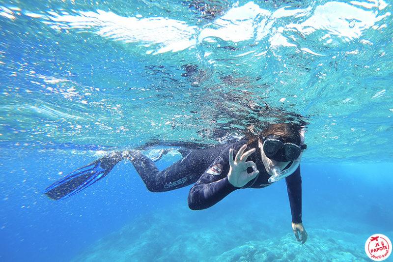 snorkeling naxos