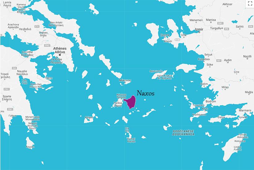 carte Naxos