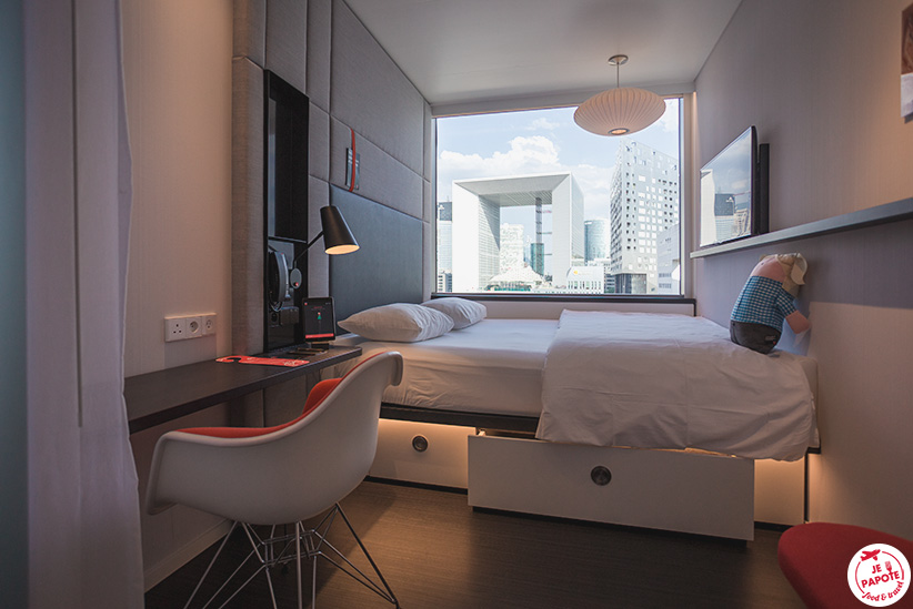 chambre CitizenM La Defense