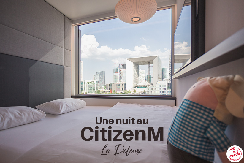 Un hôtel à la Défense ? On a testé le CitizenM La Défense