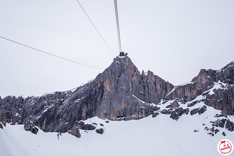 telecabine glacier dachstein.