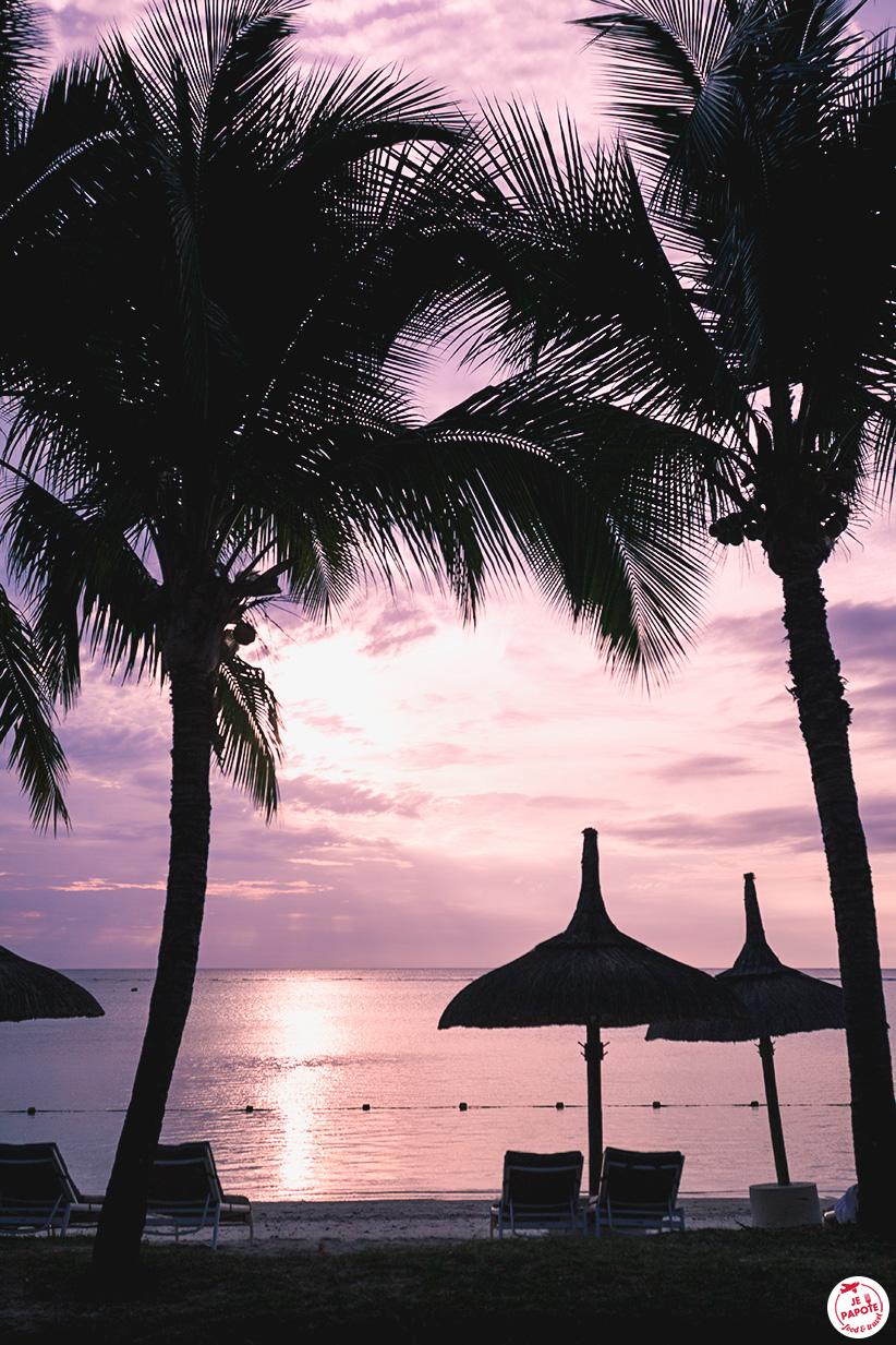 coucher soleil sugar beach