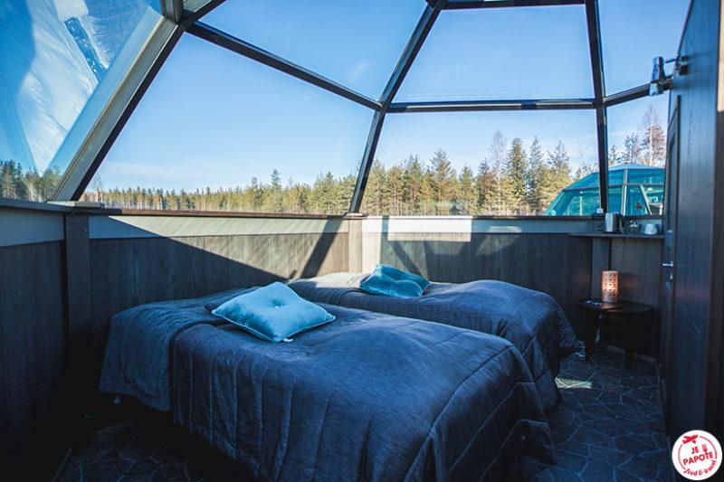 chambre igloo en verre