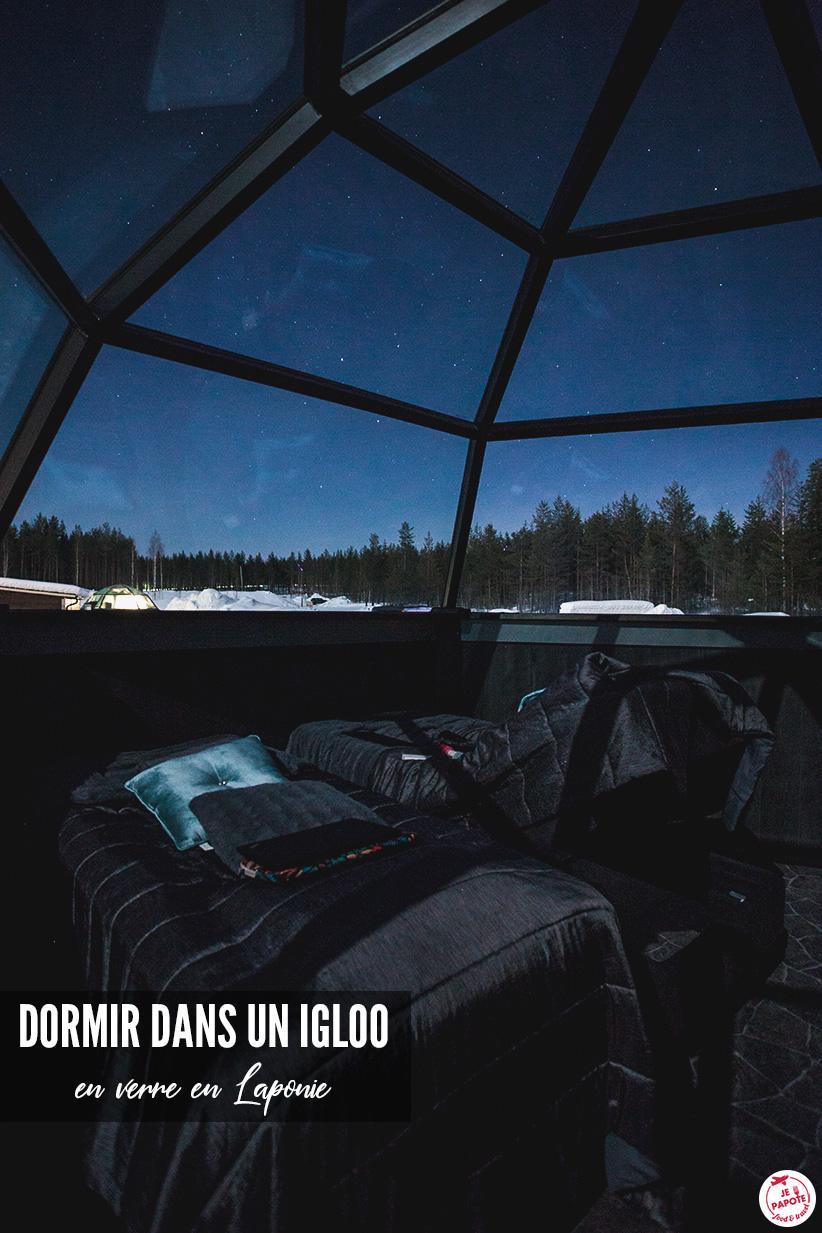 igloo aurore boreale
