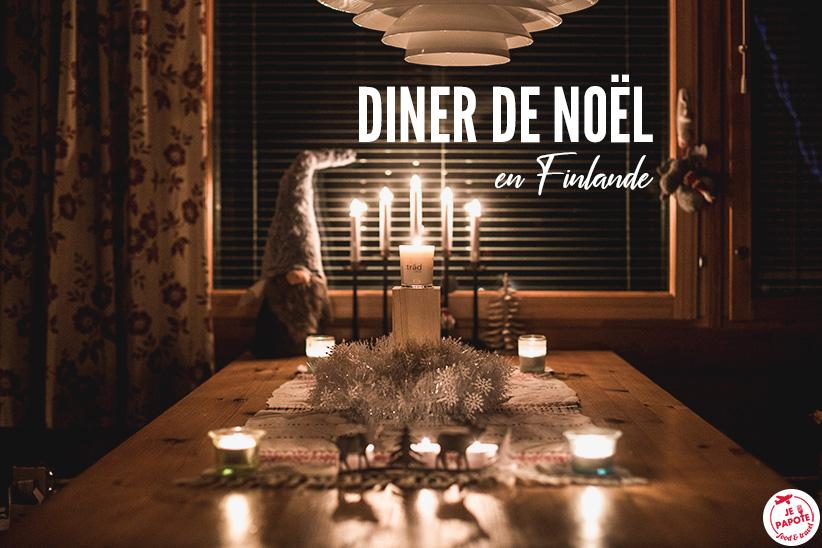 Sur la table du reveillon : Le repas de Noël en Finlande