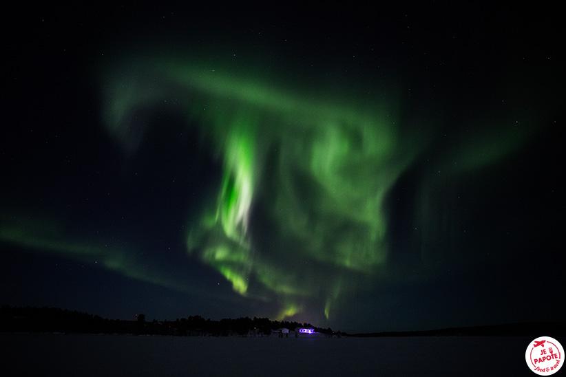 aurore boreale janvier 2020