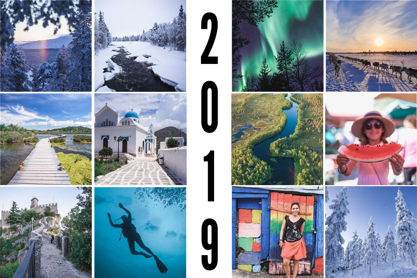 Best Of 2019 : Une année de voyage mois par mois