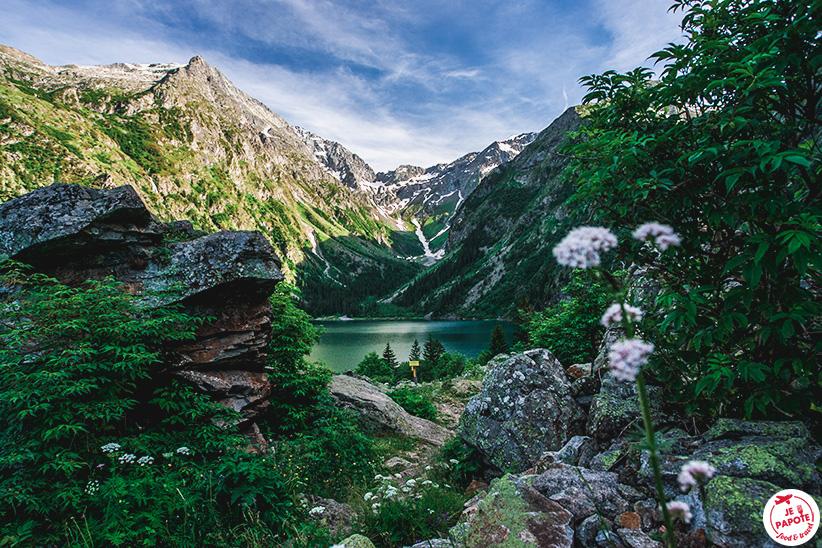 arrivée lac du lauvitel