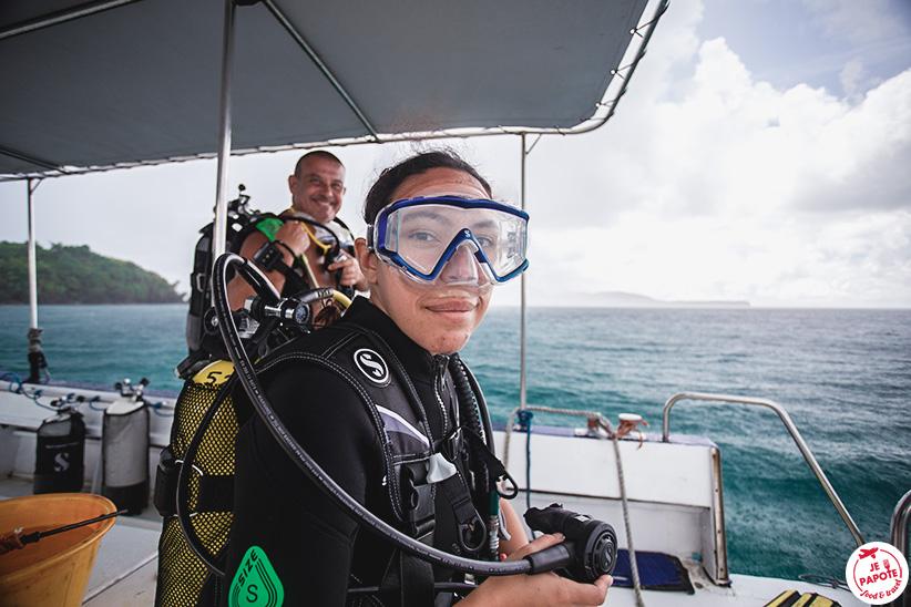 equipement plongée