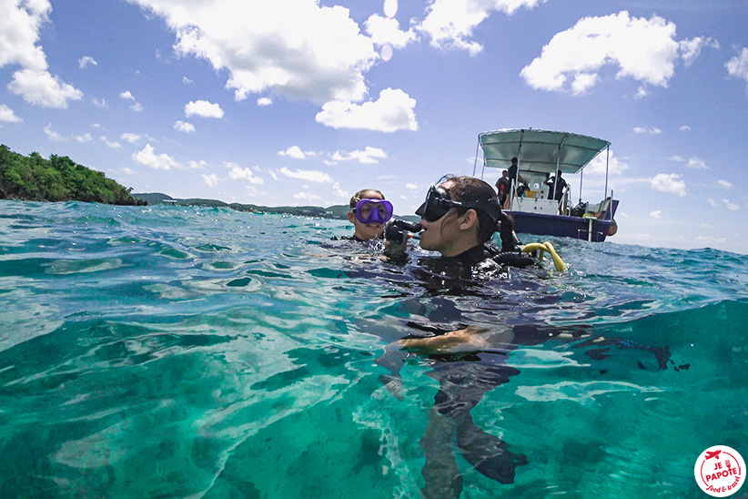 première plongée Martinique