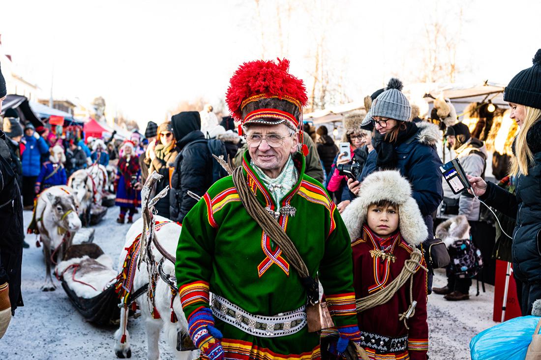 marché d'hiver jokkmokk