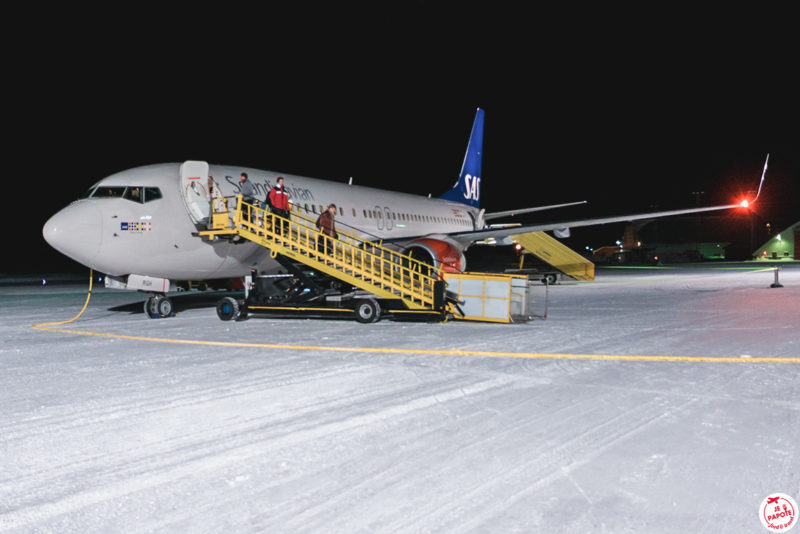 avion aeroport kiruna