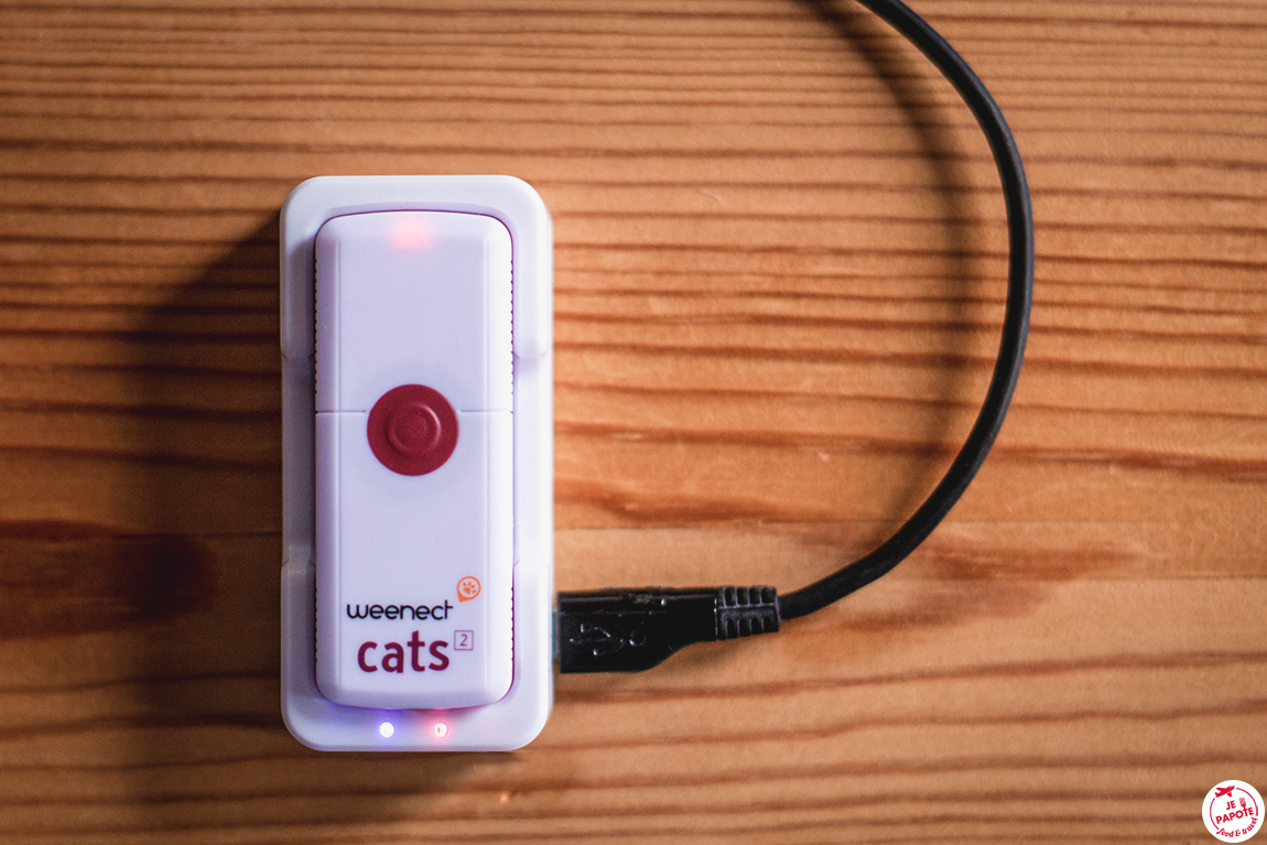 weenect cats 2 en charge