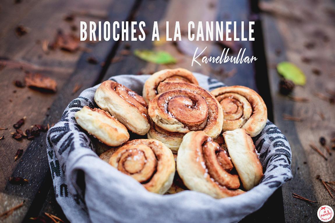 Recette des kanelbullar : brioches suédoises à la cannelle